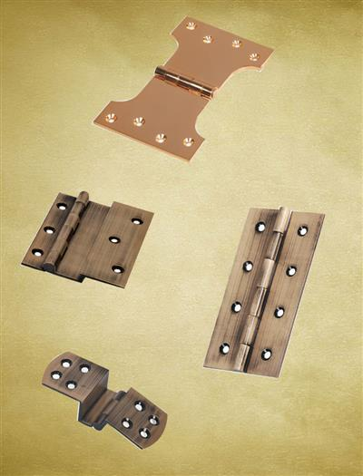 Brass W, T & L Type All Hinges