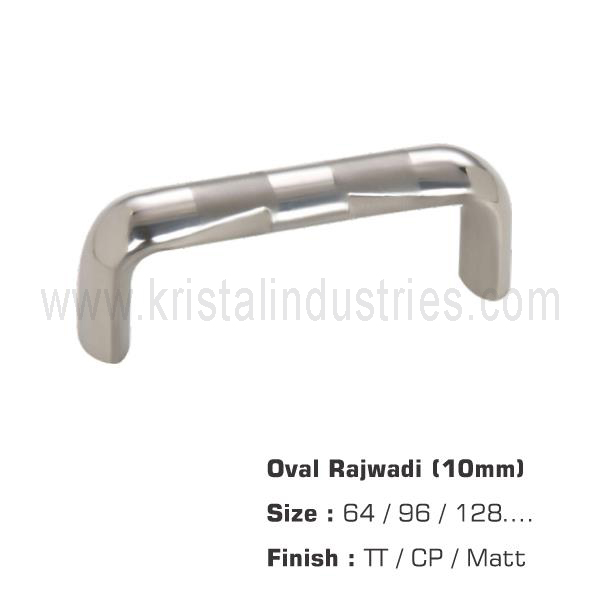 Oval Rajwadi (10mm)