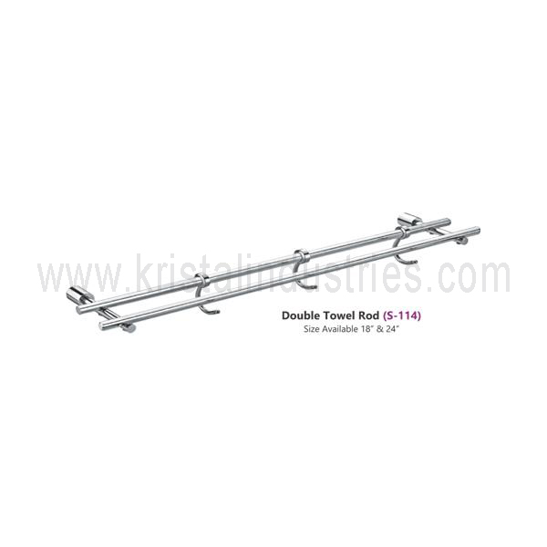 Double Towel Rod (S - 114)