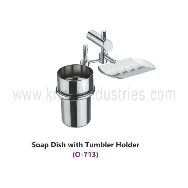 Soap Dish with Tumbler Holder  (O - 713)