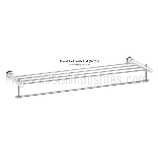 Towel Rack With Rod (D - 101)