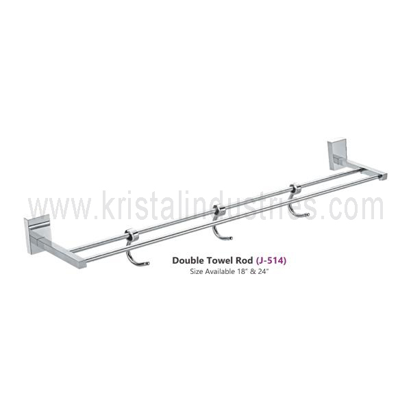 Double Towel Rod (J - 514)