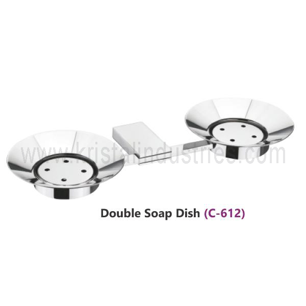 Double Soap Dish (C - 612)