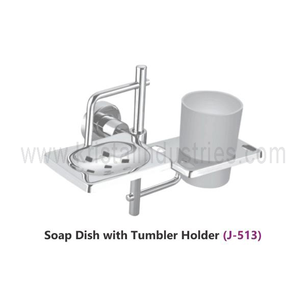 Soap Dish with Tumbler Holder (Angel J - 513)