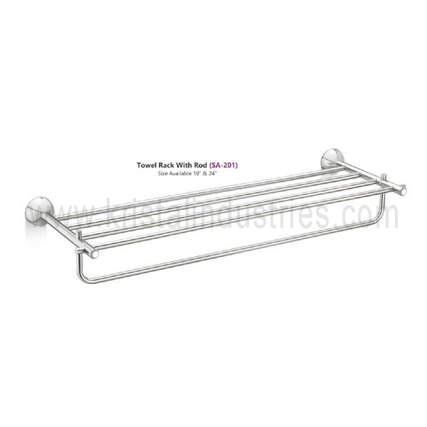 Towel Rack With Rod (SA - 201)