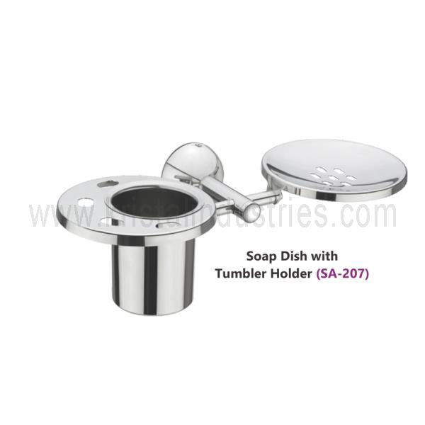 Soap Dish with Tumbler Holder  (SA - 207)