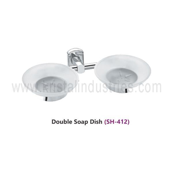 Double Soap Dish (SH - 412)