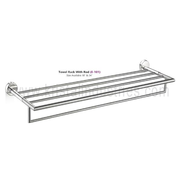 Towel Rack With Rod (E - 101)