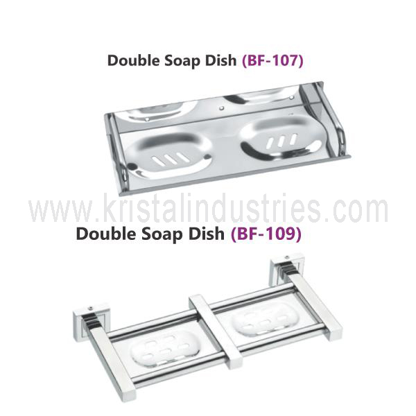 Double Soap Dish (BF - 107-109)
