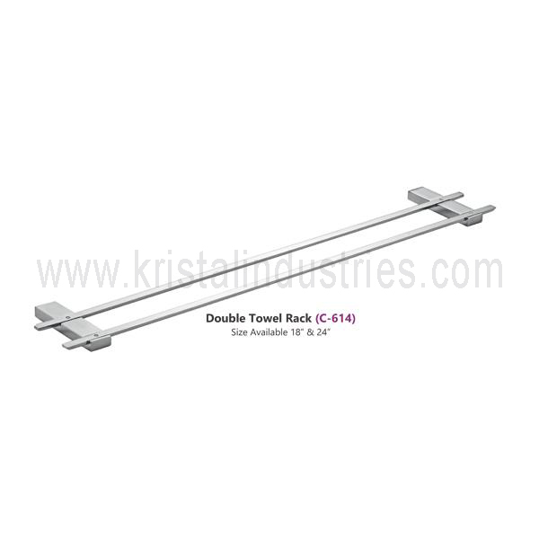 Double Towel Rack (C - 614)
