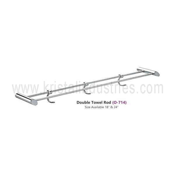 Double Towel Rod (O - 714)