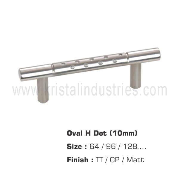 Oval H Dot (10mm)