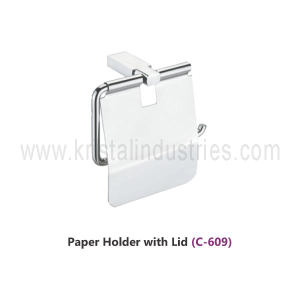 Paper Holder With Lid (C - 609)