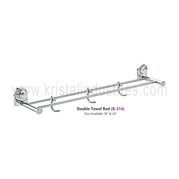 Double Towel Rod (B - 314)